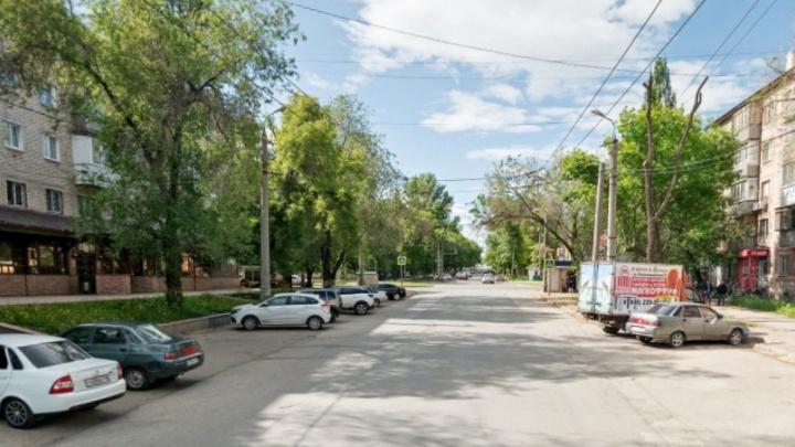 В Самаре перекрыли для движения улицу Матросова