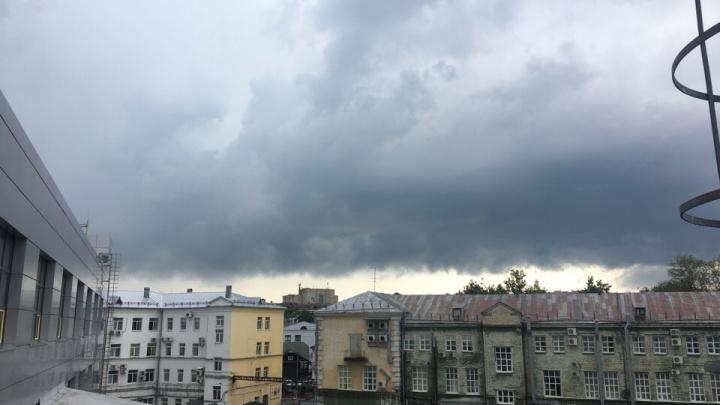 Мощный ливень затопил Ярославль: последствия непогоды в режиме онлайн