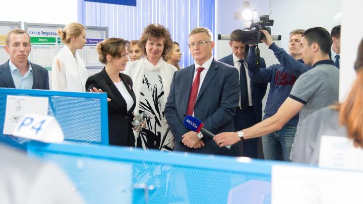 В ЮУрГУ состоялось торжественное открытие уникальных лабораторий ко Дню знаний