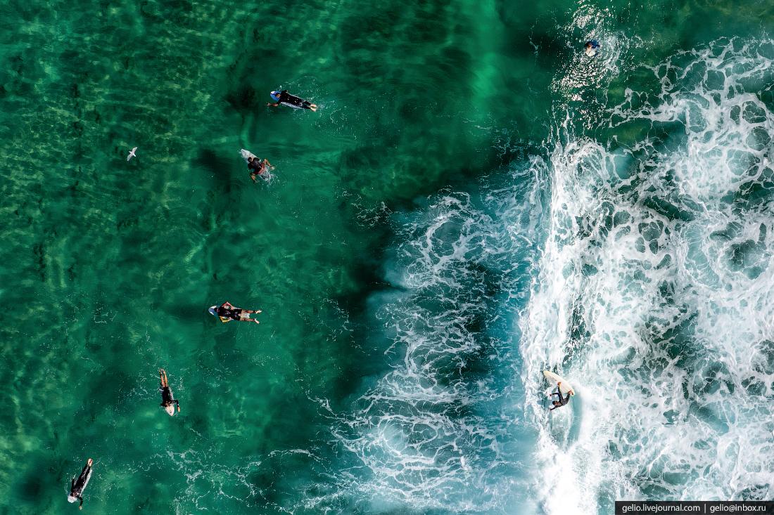 «Пляжи, сёрфинг — невероятная вещь, причём в черте города всё происходит. Я за два дня посетил 4 пляжа: и искупался, и пофотографировал», — рассказал корреспонденту НГС Слава