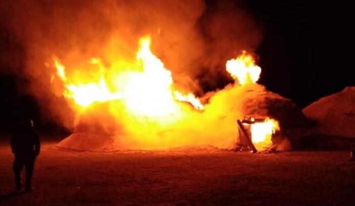 На границе с Башкирией сгорело жилище каменного века