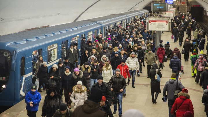 Новосибирцы стали чаще ездить в метро