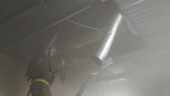 В Уфе загорелась школа: эвакуировали 252 детей