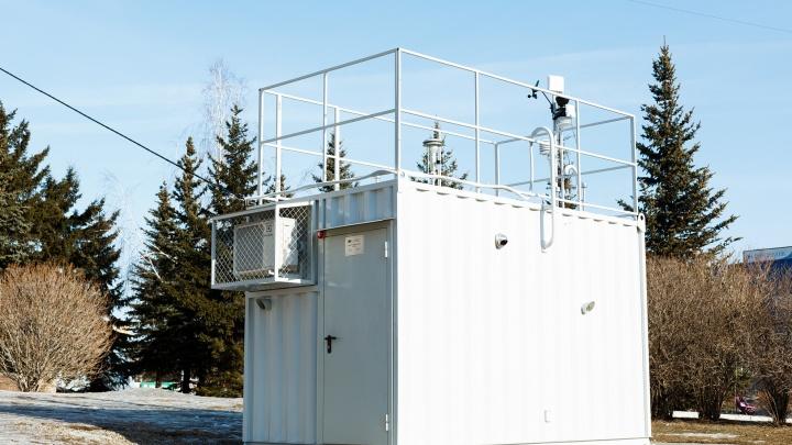 В Красноярске установили два дополнительных поста наблюдения за состоянием воздуха