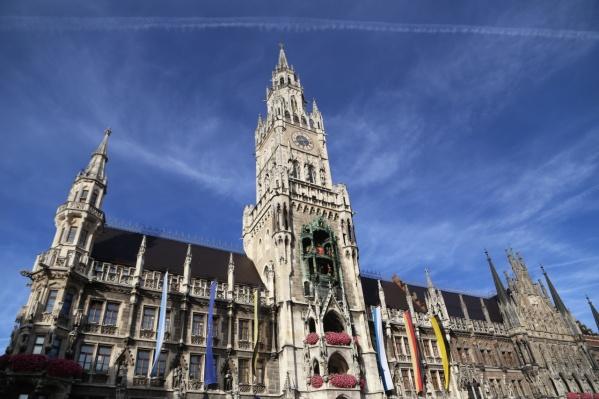 Новая ратуша — одна из главных достопримечательностей Мюнхена