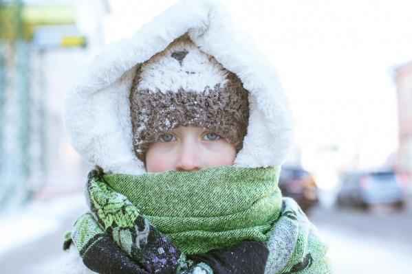 Синоптики говорят, что в первый день последней недели в году будет очень холодно