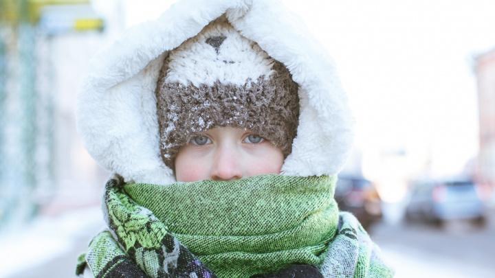 В Тюмени в понедельник ударят 30-градусные морозы