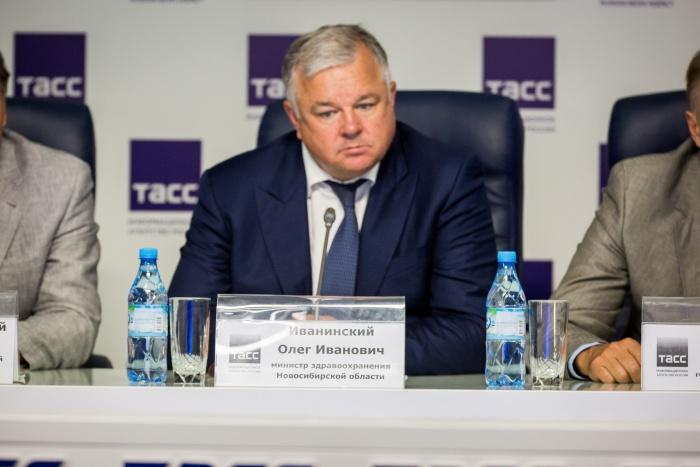Олег Иванинский покинул пост главы министерства здравоохранения сегодня, 27 сентября