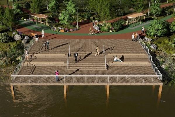 Уже к следующему году ростовчане будут гулять по новому парку