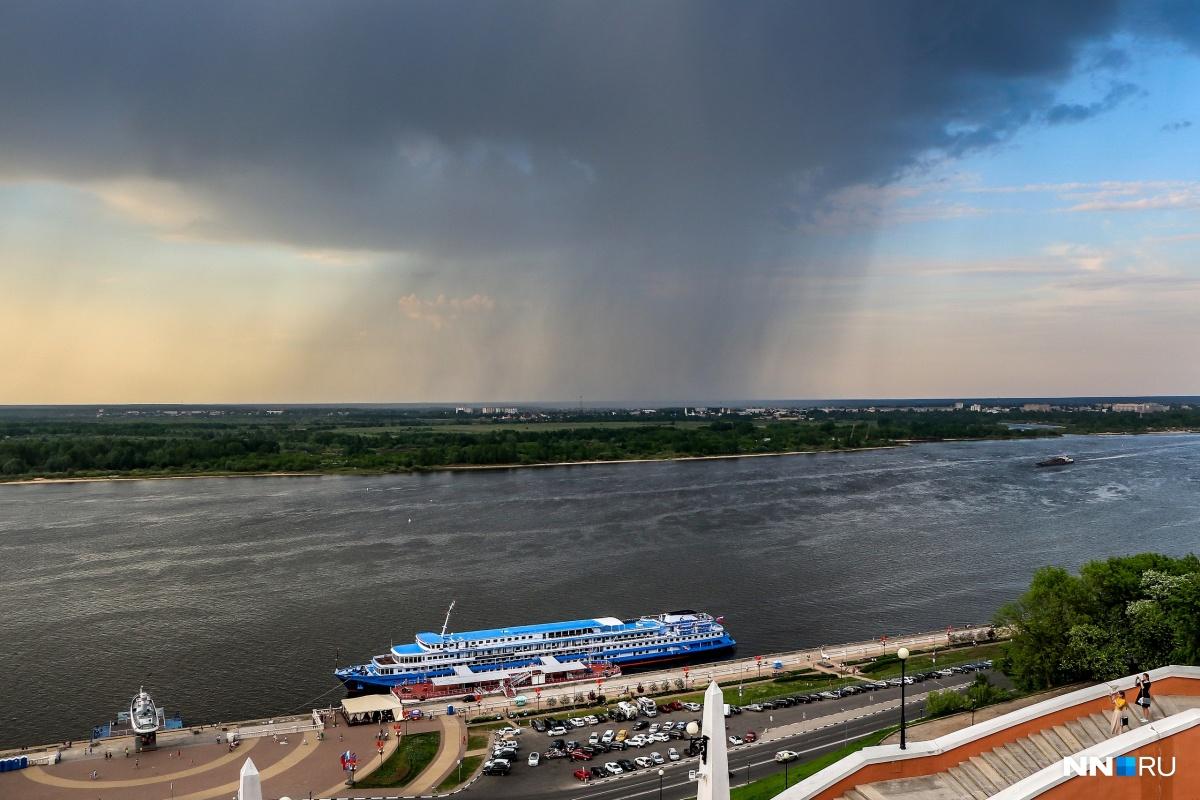 Во вторник и среду пройдет небольшой дождь