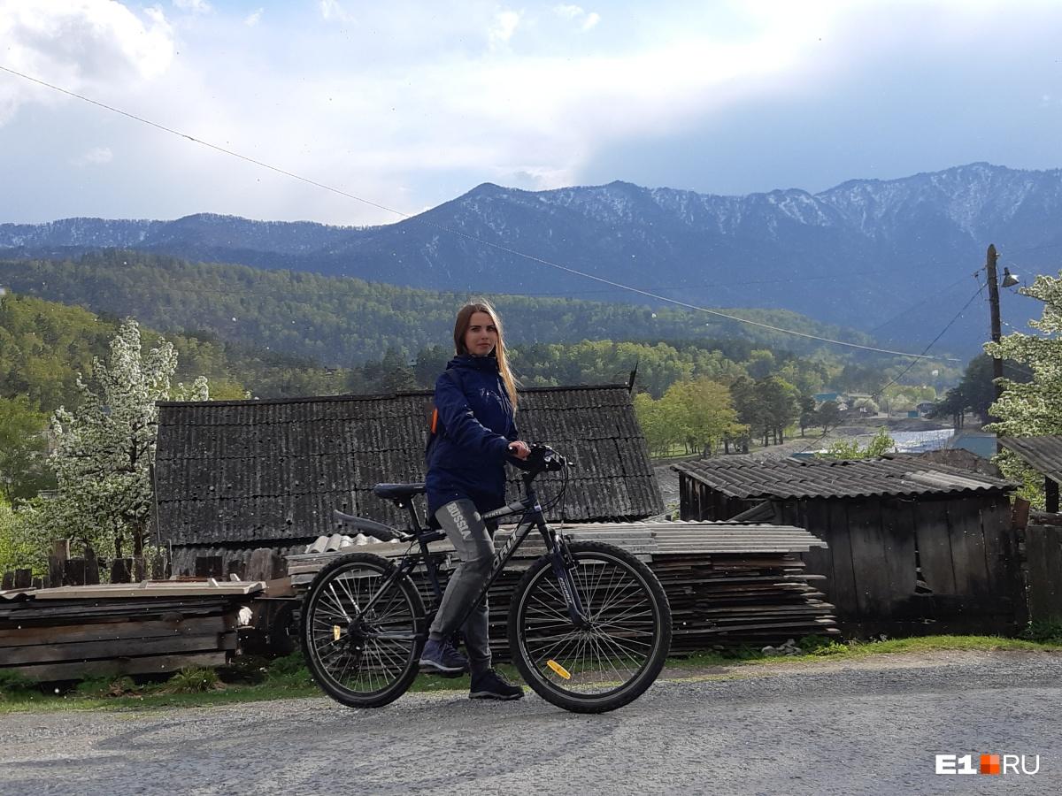 Велосипедная прогулка в Чемале