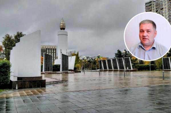 Площадь Памяти для тюменских инвалидов на колясках на сегодня является одним из самых доступных мест для проведения мероприятий