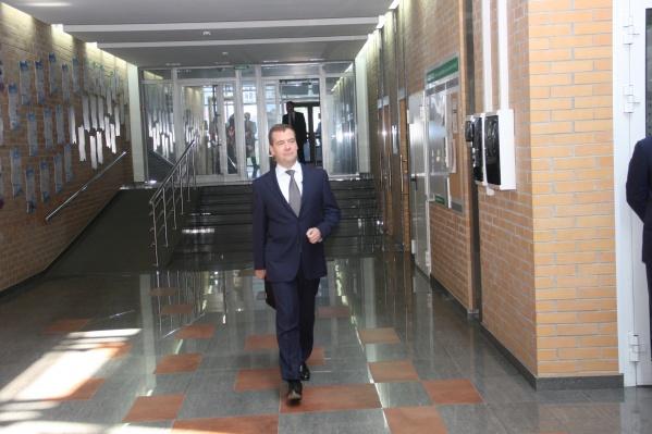 Самолёт с Дмитрием Медведевым на борту приземлился ночью в аэропорту Толмачёво