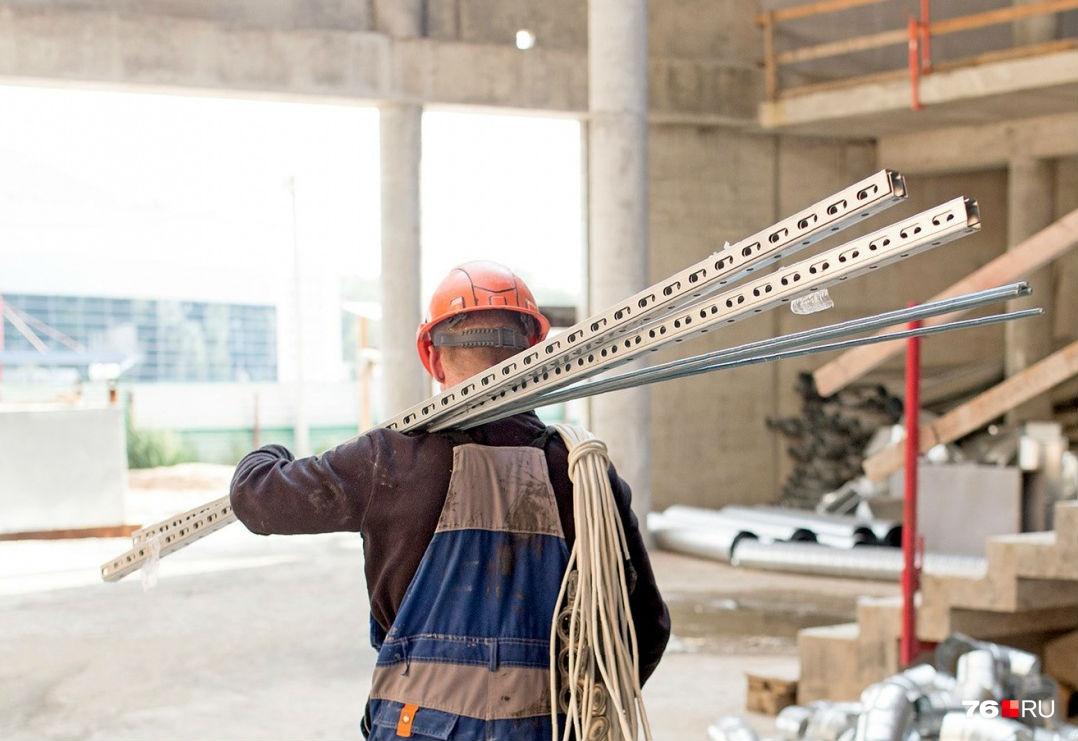 В области очень нужны строители