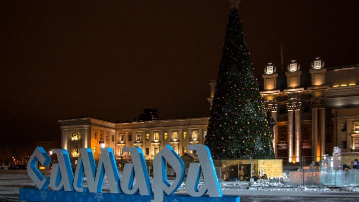 На площади Куйбышева в Новый год устроят шоу с фейерверками и концертом звёзд