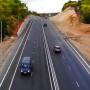 На Красноглинском шоссе фонари и светофоры обещают включить в течение года