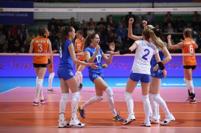 Капитан сборной Ксения Парубец была признана лучшим игроком турнира