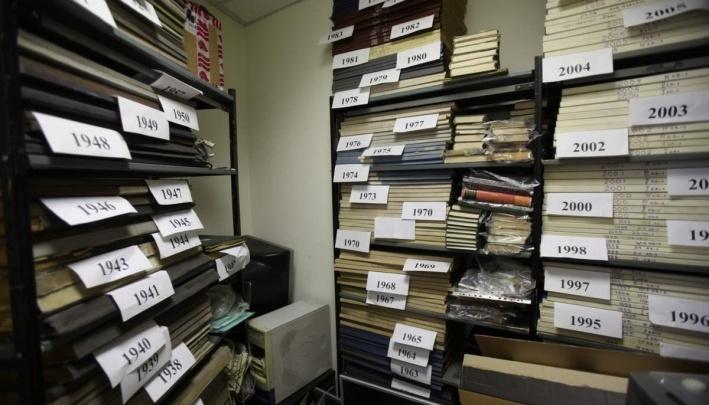 Названа цена за подшивки архивов «Красноярского рабочего» с 1927 года