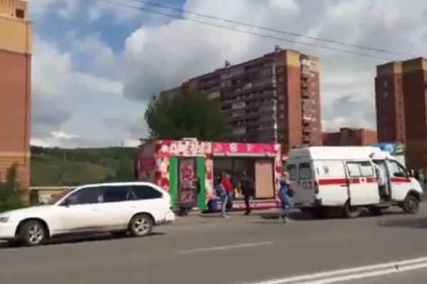 ДТП случилось около 13:20 в Первомайском районе Новосибирска
