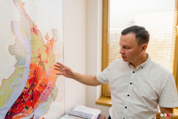По словам Сергея Шанова, новый генплан рассчитан до 2030 года