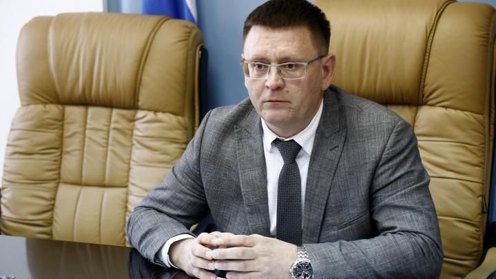 Замгубернатора Курганской области Сергей Чебыкин написал заявление «ещё до прихода силовиков»