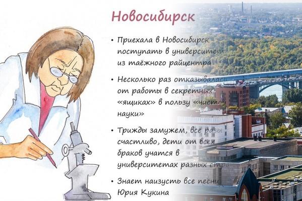 Жительница Новосибирска Ирина Позднякова нарисовала 7 городов в образе их типичных представителей — на очереди ещё 20 городов