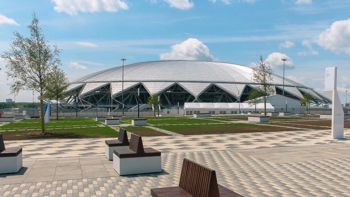 Власти сменили нерасторопных уборщиков территории около стадиона «Самара Арена»