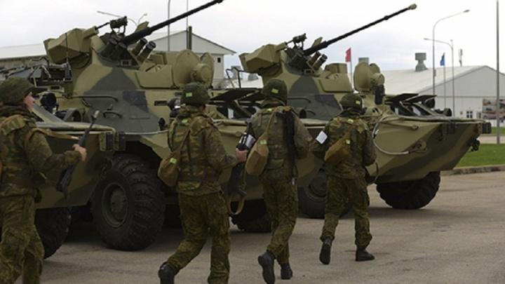 Волгоградских военных подняли ночью по боевой тревоге