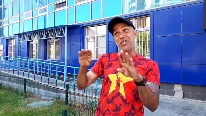 «Каждая ваша девушка — Мария Шарапова»: объехавший полмира на скейте бразилец заглянул в Волгоград