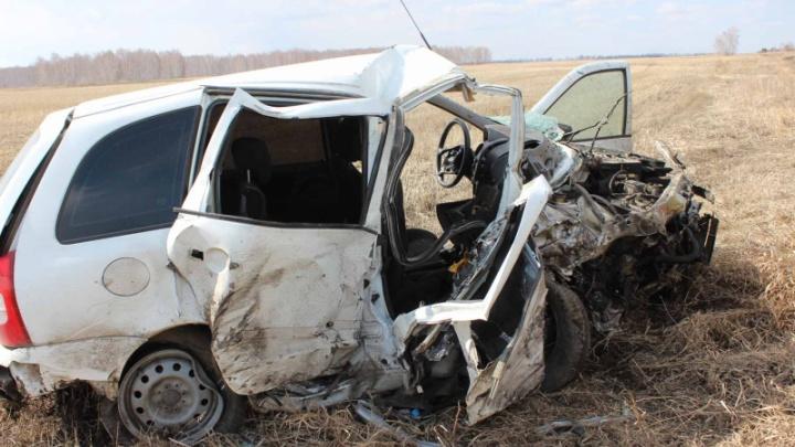 В лобовом ДТП под Челябинском погибли двое взрослых и один ребенок