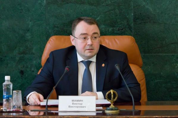 Виктор Мамин занимает пост первого вице-губернатора Челябинской области с апреля этого года