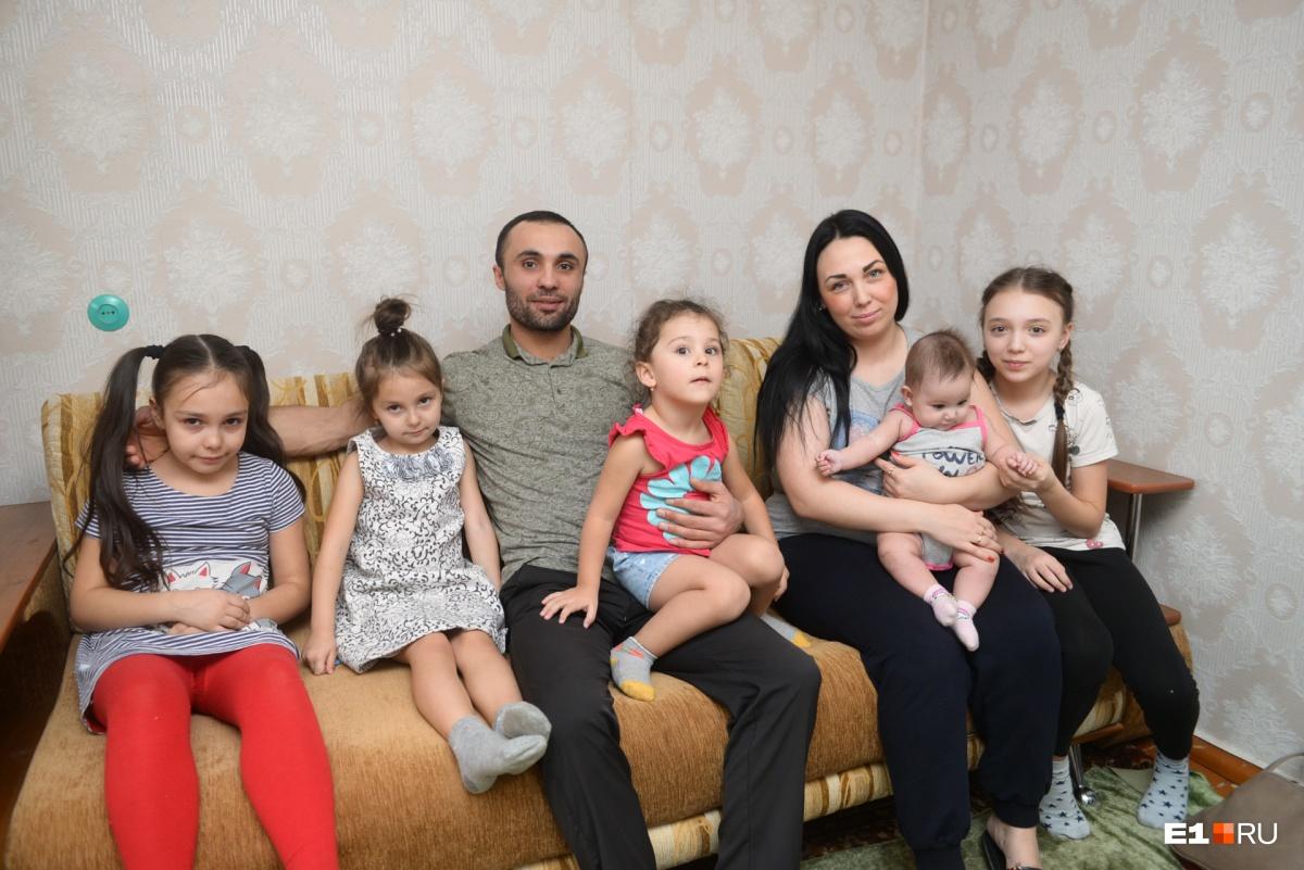 У Геворга и его жены Татьяны пятеро детей