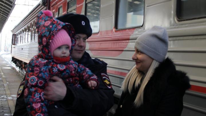 В командировку на Кавказ уехали полсотни красноярских полицейских