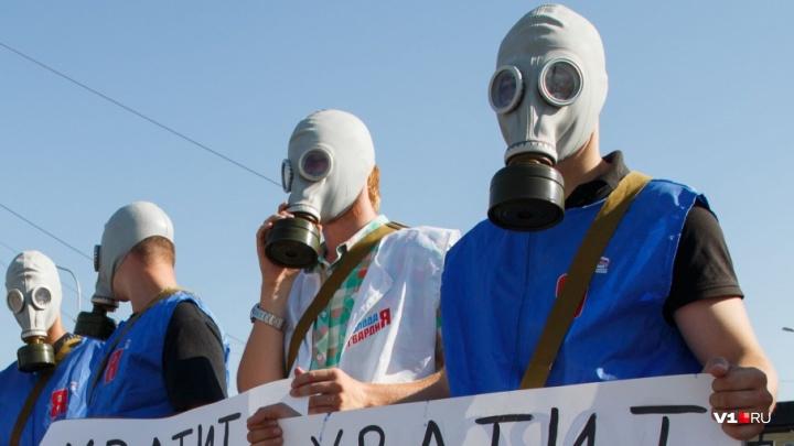 Под Волгоградом экологи добиваются прекращения опасных выбросов в атмосферу