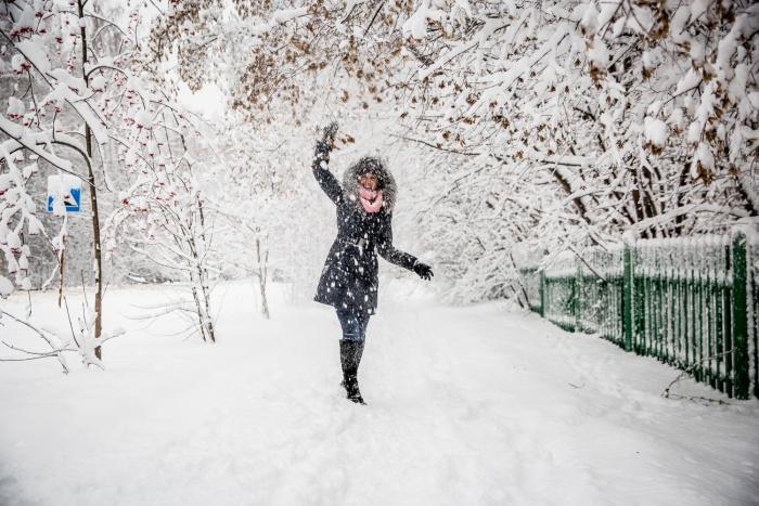 В отдельных районах области пройдёт небольшой снег, будут слабые метели
