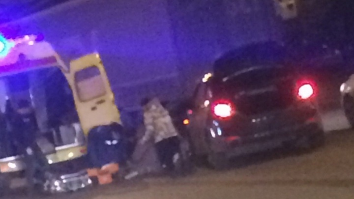 В Уфе иномарка сбила женщину-пешехода