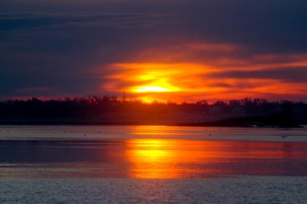 Восход над Краснослободском