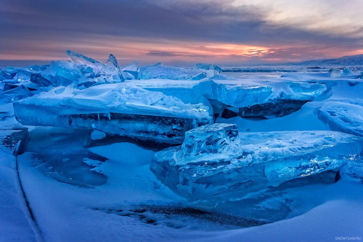Краски зимнего Байкала