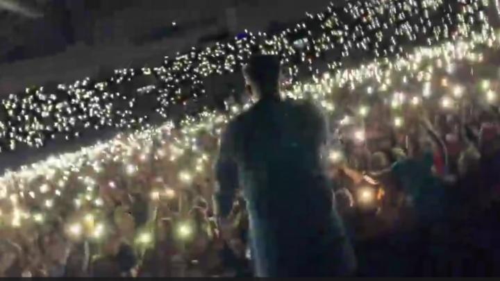 Баста поблагодарил Красноярск и показал красивый ролик с концерта