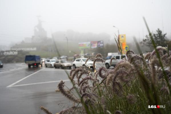 В первой половине недели в Ростове будут дожди