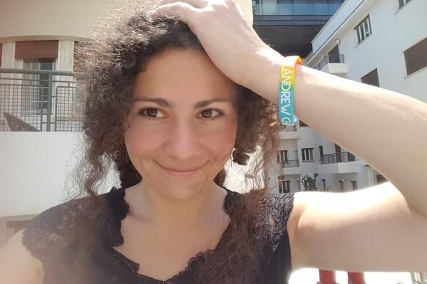 В середине июня Ая работала волонтером на гей-параде в Тель-Авиве и написала об этом колонку на Е1.RU