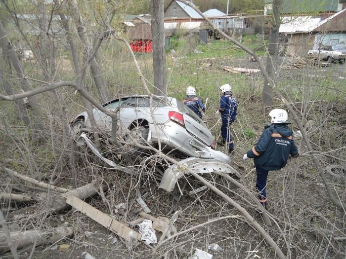 Спасатели МАСС ликвидировали последствия аварии
