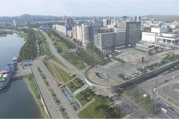 Мэр считает, что новая набережная станет визитной карточкой города