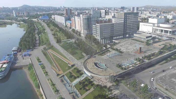 Представлен проект обновлённой Театральной площади с фонтанами и парящей смотровой вместо летников