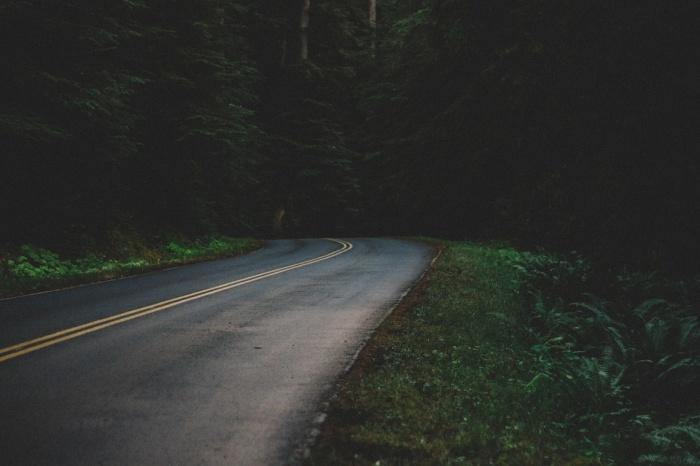 Пешеход внезапно выбежал на дорогу в темноте — водитель не успел затормозить
