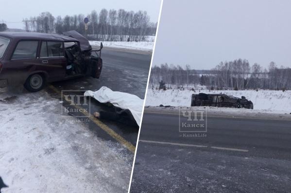 От полученных травм водитель «четверки» скончался на месте аварии