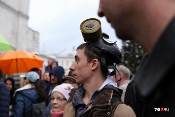 Ярославцы митингуют на мусорной теме уже больше года