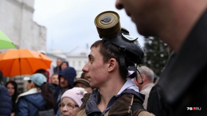 По Ярославской области пройдёт волна митингов против тарифов за вывоз мусора