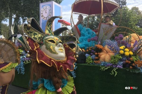 Фестиваль «Цветущая Самара» традиционно проходит в августе