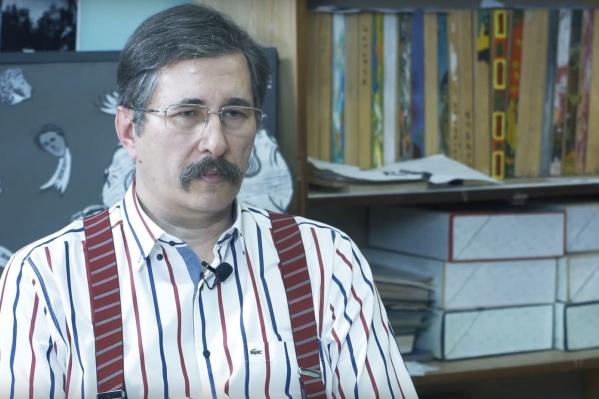 Михаил Трифонов, который в книжном бизнесе с 1992 года